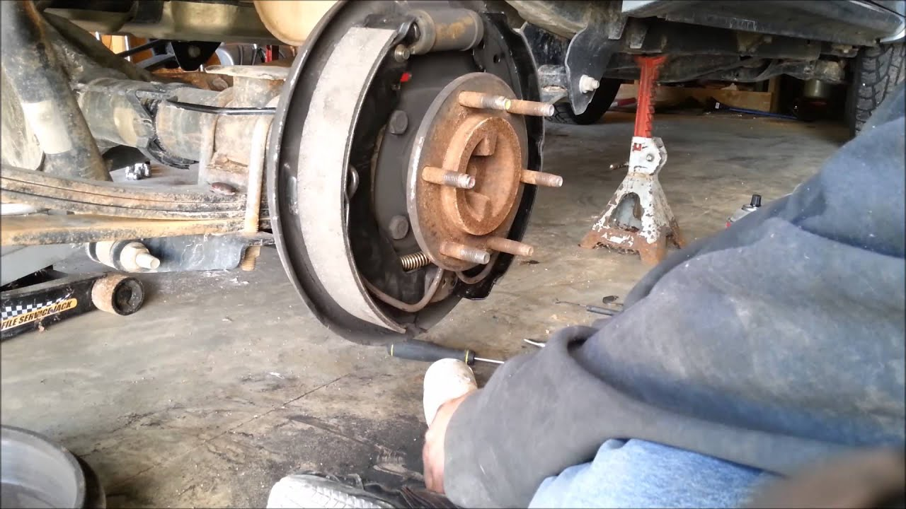 2007 Chevy Colorado Lt Rear Brakes Pt 3 Of 3 Youtube