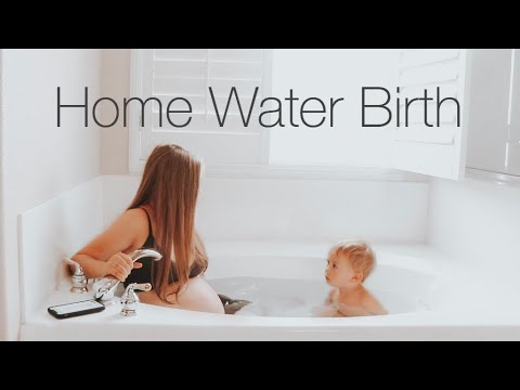 HOME WATER BIRTH VLOG *EMOTIONAL*