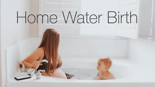 vuclip HOME WATER BIRTH VLOG *EMOTIONAL*