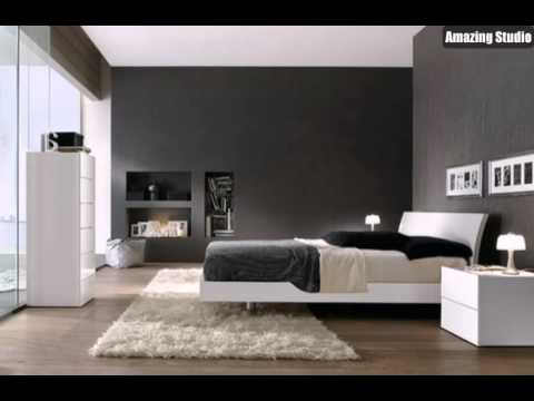 wei e m bel graue w nde youtube. Black Bedroom Furniture Sets. Home Design Ideas