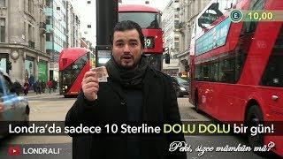 Londra'da Sadece 10 Sterline Dolu Dolu Bir Gün! Peki, Sizce Mümkün mü?