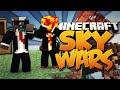 """Minecraft TEAM SKYWARS #21 """"WORST TEAMMATE EVER!"""" w/PrestonPlayz & CampingRusher"""