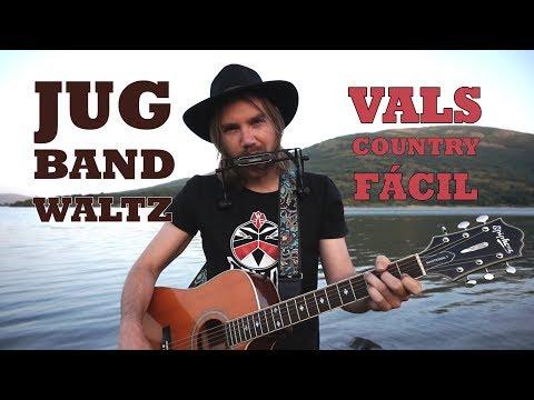 COUNTRY Fácil para tocar en el pantano con tu armónica en C | Jug Band Waltz