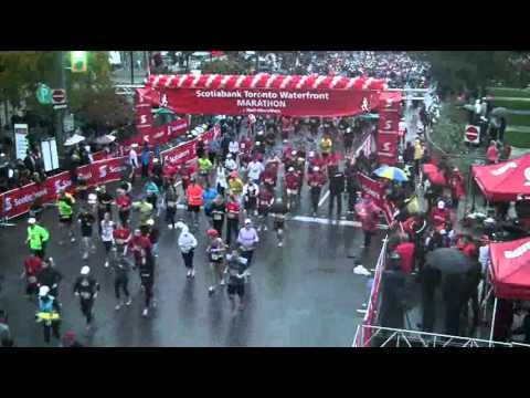 Scotiabank Toronto Waterfront Marathon 2012