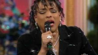 Vickie Winans sings THE RAINBOW (TELLS ME THIS STORM WILL PASS)