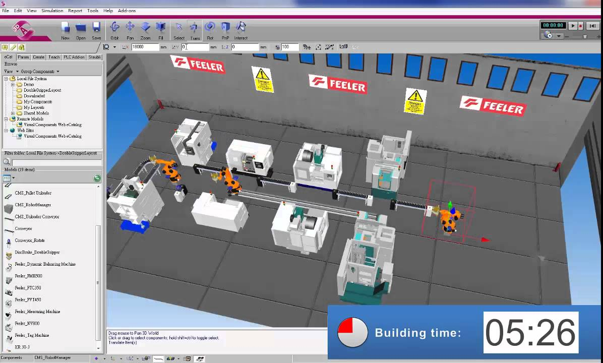 Create Simulation Layout In 8 Minutes With The Visual