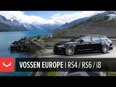 Vossen Europe   Switzerland & Liechtenstein   Audi RS4, Audi RS6, BMW i8