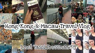 Hong Kong and Macau Travel Vlog + I met Yassi Pressman?!?! | Nix Di