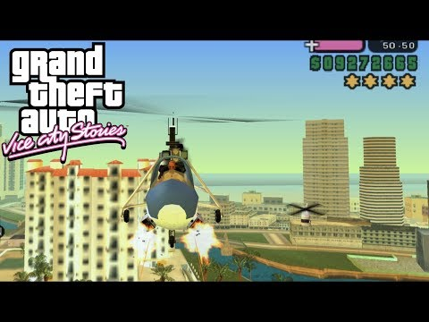 GTA: Vice City Stories [PSP] Free-Roam Gameplay #1 [1080p]