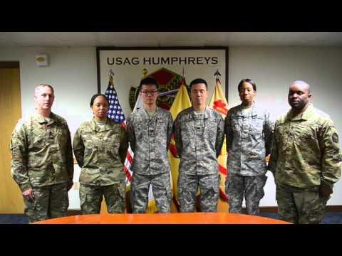 106 Years of Chaplain Assistants - U.S. Army Garrison Humphreys, South Korea - 28 December 2015
