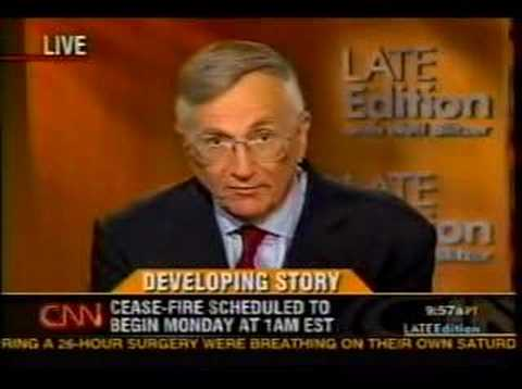 CNN & New Yorker - Bush Planned Lebanon War Months Before