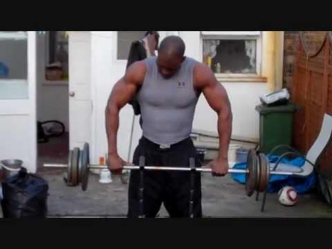 Ngo Okafor Black Male Model Workout In London