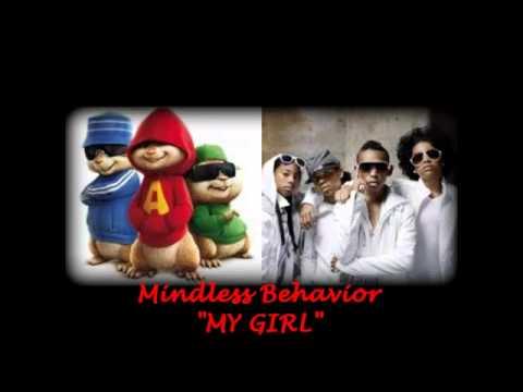 Alvin   the Chipmunks My Girl by Mindless Behavior   YouTube