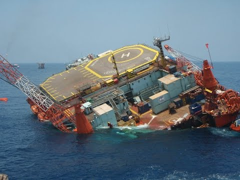 Mammoet Salvage - SSV Jupiter 1 - The problem