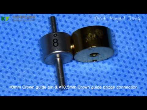 Flapless 3D-guided implant surgery using Crown Guide Kit  and CGF