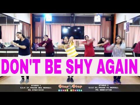 Don't Be Shy Again Dance Steps | Bala | Choreography By Step2Step Dance Studio | Ayushmann | Badshah
