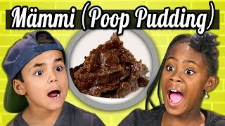 KIDS vs. FOOD - MÄMMI (POOP PUDDING)