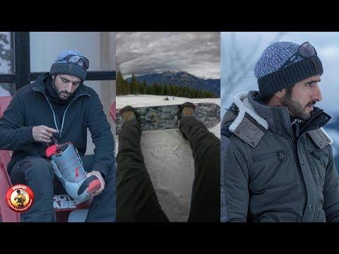 Sheikh Hamdan Ski Time In Canada 2019 Trip