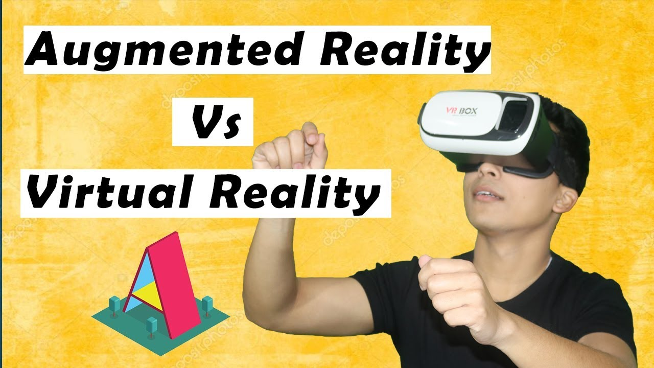 Virtual Reality Vs Augmented Reality | Quick Discussion with Examples | Stephen Simon - YouTube