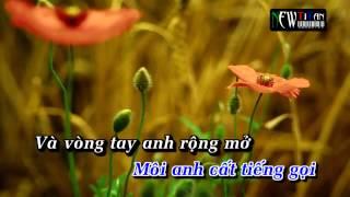 Karaoke Bức Thư Tình Đầu Tiên - Oppa Anh full beat