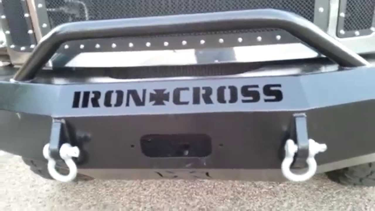 Ford Powerstroke Hd Front Bumper By Iron Cross Automotive