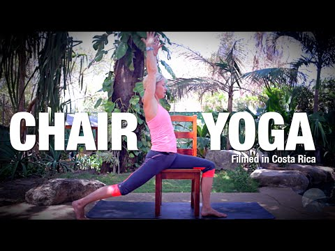 Supported Yoga with a Chair - Five Parks Yoga Class