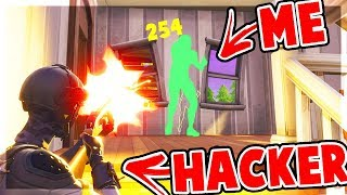 I Actually Got Killed By a HACKER in FORTNITE