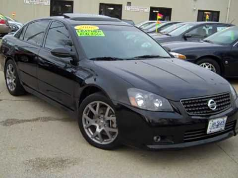 2006 nissan altima se-r 4 door sedan dekalb il near aurora il. - youtube