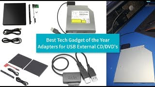 USB External Adapters CD DVD Blue Ray Drive - Best Gadgets of the Year Review