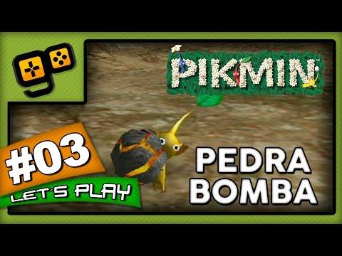 Let's Play: Pikmin - Parte 3 - Pedra Bomba