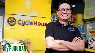 Cycle House owner Jeff Chua shares why he decided to open a motorcycle and bicycle shop | My Puhunan