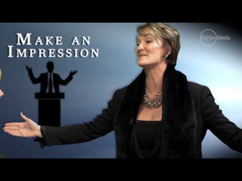 Australian Financial Review = Make An Impression   Find Your Public Speaking Style   Dr Mahler