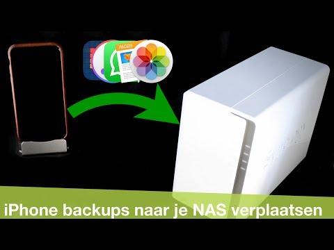 iPhone en iPad backups naar je NAS maken