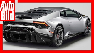Zukunftsaussicht: Lamborghini Huracán Performante (2017) - Der Lamborghini stark wie nie