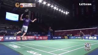 Kenichi Tago vs Marc Zwiebler | QF Indonesia Badminton Open 2015 New