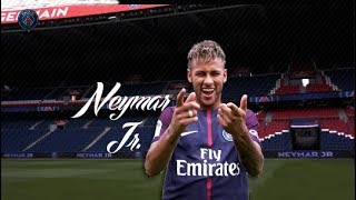 Neymar Jr  PSG 2017 Skills, First Day Training & Presentation