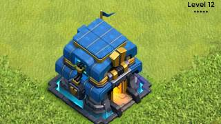 UPGRADE ALL BUILDINGS in 3 Minutes Clash of Clans All Buildings Upgrades in Every Level COC