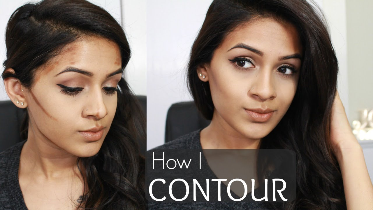How I Contour  Natural Everyday Contour & Bronzer Routine  Step By Step   Brown Skin  Youtube