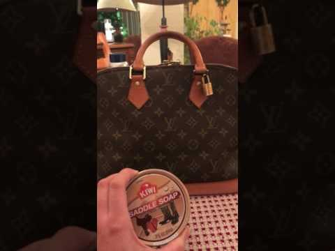HOW TO CLEAN LOUIS VUITTON BAGS