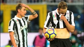 Gol de Gonzalo Higuaín - Sampdoria VS Juventus (3-2)
