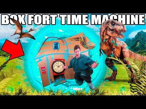 BOX FORT TIME MACHINE!! 📦⏰ Time Traveler's Challenge