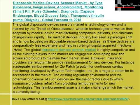 Disposable Medical Devices Sensors Market 2018