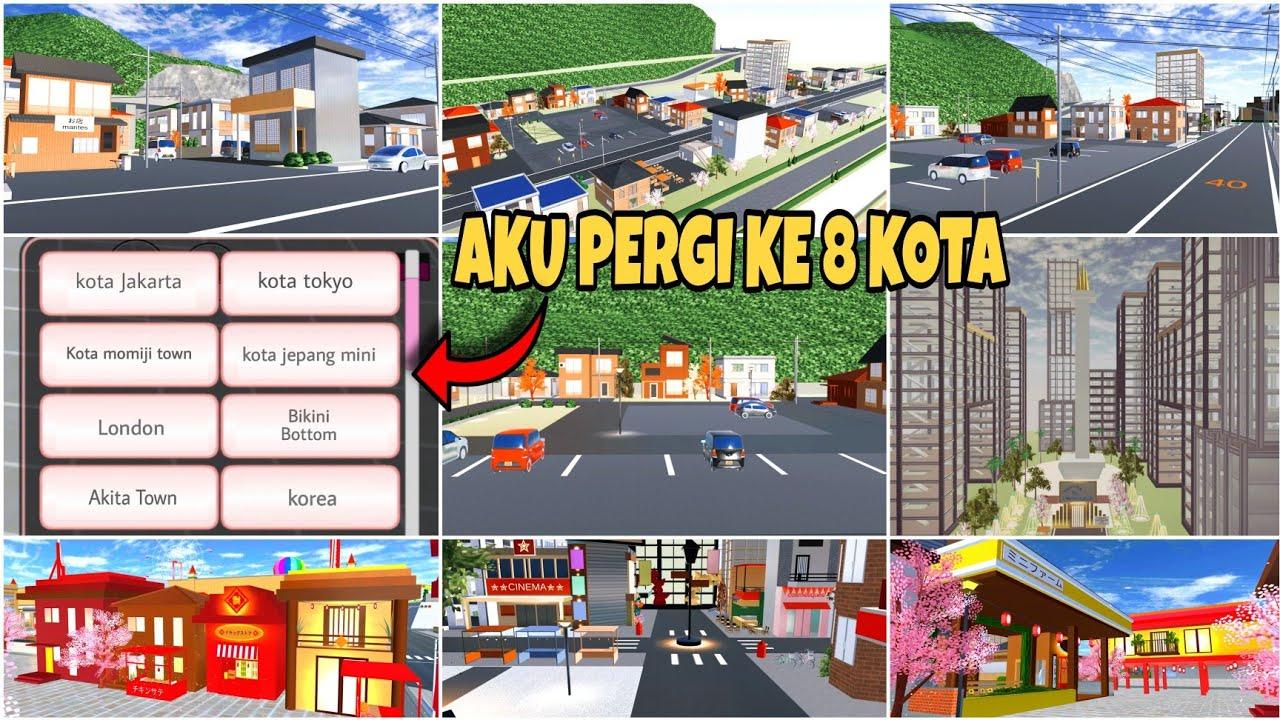 Download BAGI BAGI ID KOTA MEWAH & AESTHETIC 💕 Bisa di save + edit - SAKURA SCHOOL SIMULATOR