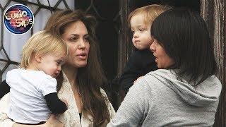 Angelina Jolie Kids Have 12 Nannies???