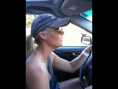 Car Dancing to Stevie Wonder