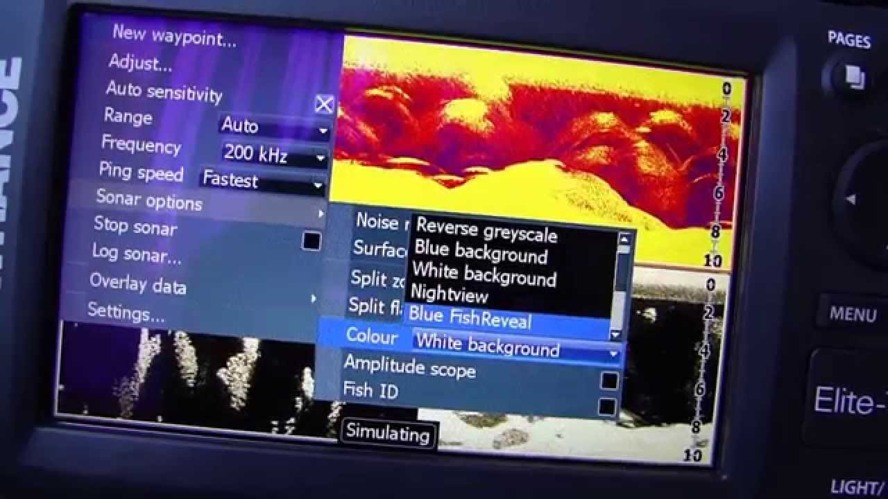 Lowrance Elite 7 HDI test