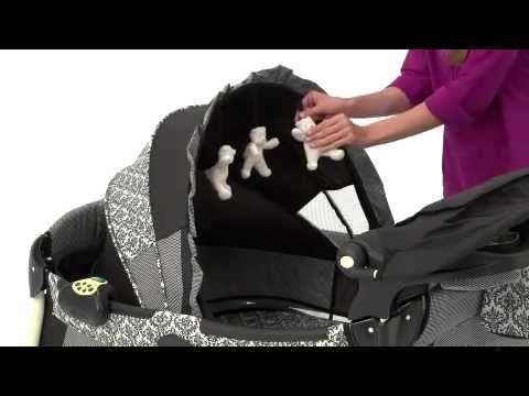 Graco Pack N Play Silhouette Playard Youtube