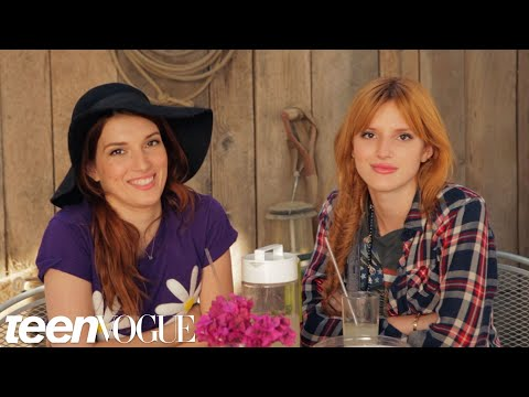 Best Friend Tag with Bella and Dani Thorne – Besties – Teen Vogue