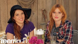 Bella Thorne and Dani Thorne Answer 6 Rapid-Fire Questions | Teen Vogue