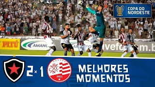 Botafogo 2 x 1 Náutico | Gols e melhores momentos | Semifinal | Copa do Nordeste 2019